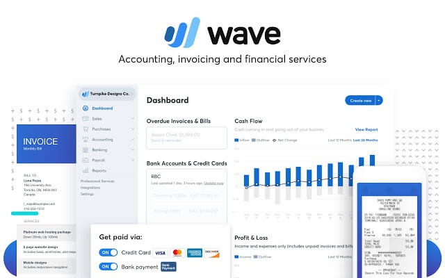 Wave (best free accounting software)