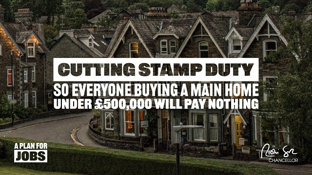 Summer statement stamp duty