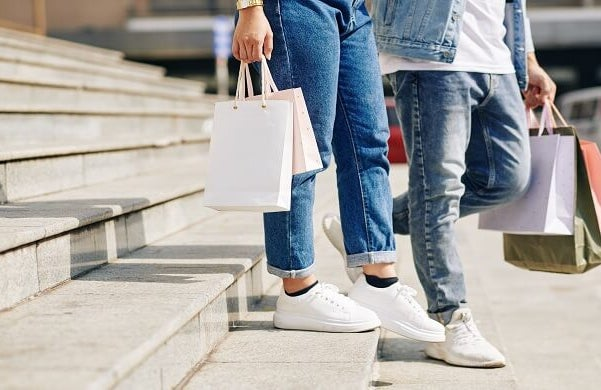 fall in retail demand even though increases experienced upon reopening