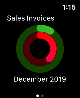 Sage Business Cloud Accounting Apple Watch