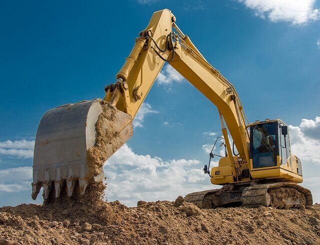 Construction Finance Excavator