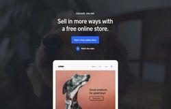 Square Online website