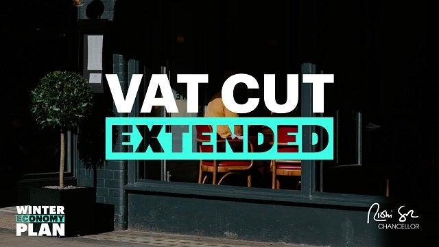 Hospitality VAT cut extended