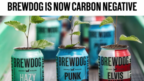 Brewdog carbon negative 2020