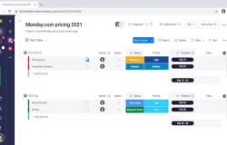 monday.com pricing screenshot