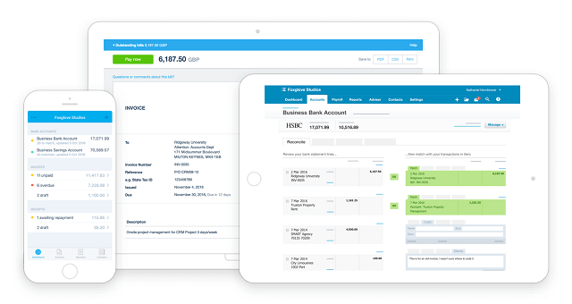 Xero (Best self employed accounting software)