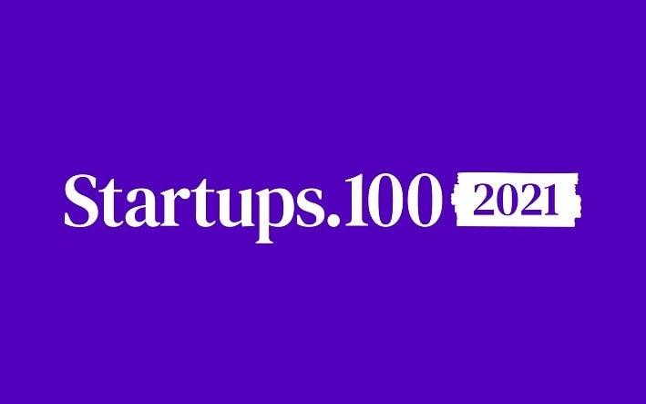Startups 100 2021 campaign logo