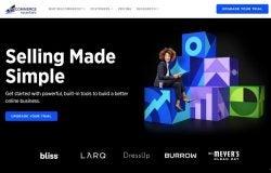 BigCommerce homepage screenshot
