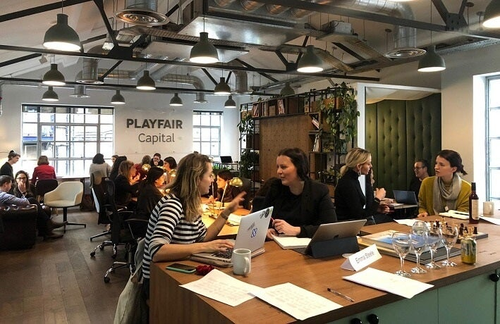 Female founders mentoring event