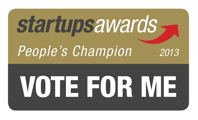 Vote now for your Startups Awards 'People's Champion'