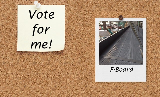 People's Champion Finalist: F-Board