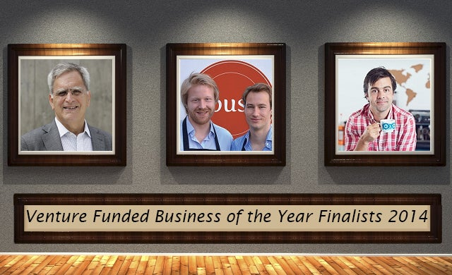 Venture Funded Business of the Year 2014: Meet the finalists