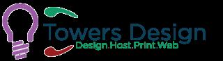 towers design logo