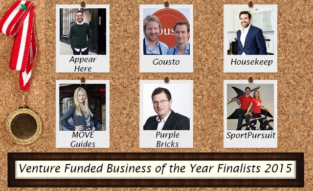 Venture Funded Business of the Year 2015: Meet the finalists