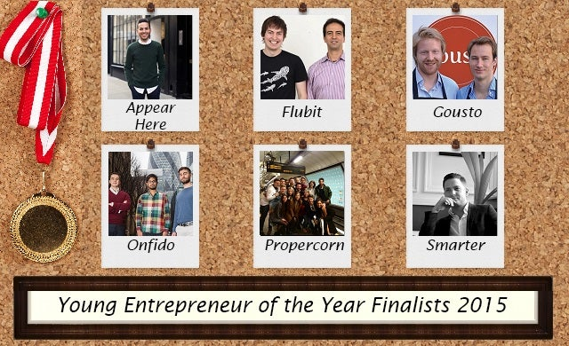Young Entrepreneur of the Year 2015: Meet the finalists