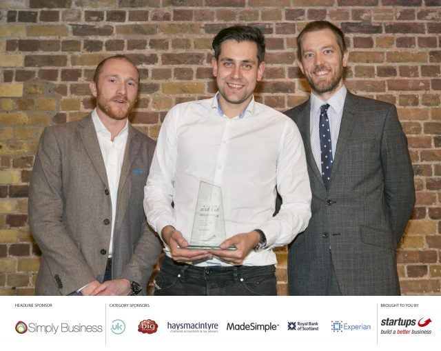 Simply Business Startups Business of the Year - AppearHere