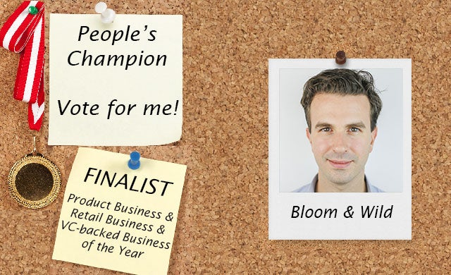 People's Champion finalist 2016: Bloom & Wild