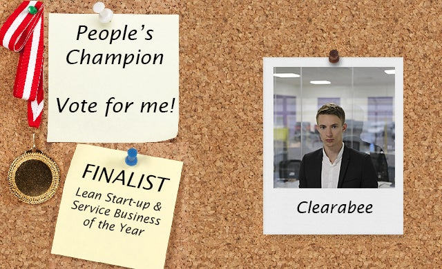 People's Champion finalist 2016: Clearabee