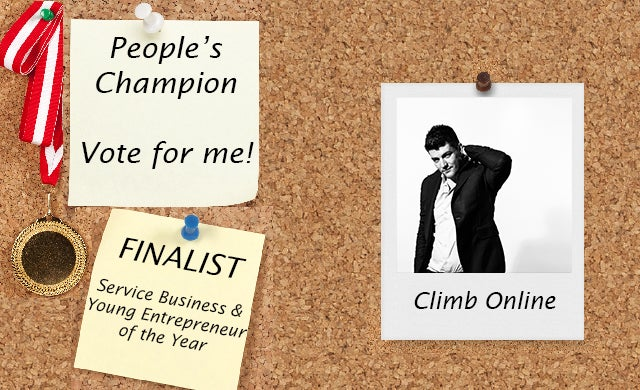People's Champion finalist 2016: Climb Online