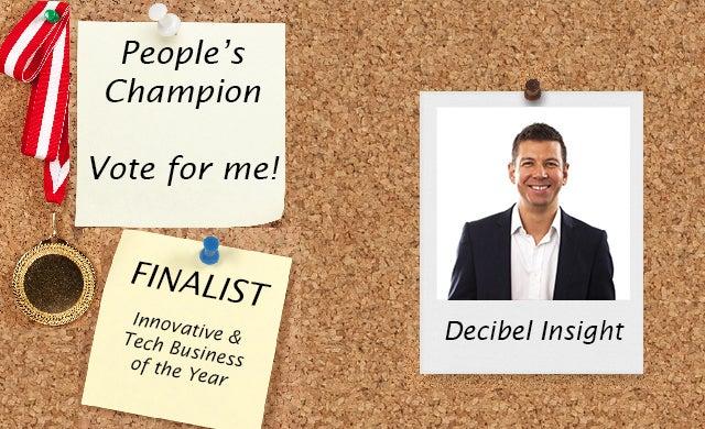 People's Champion finalist 2016: Decibel Insight