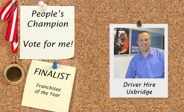 People's Champion finalist 2016: Driver Hire (Uxbridge)