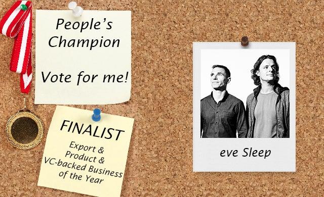 People's Champion finalist 2016: eve Sleep