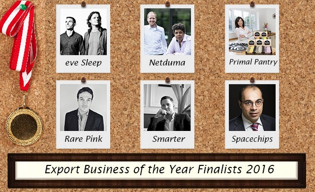 Export Business of the Year 2016: Meet the finalists