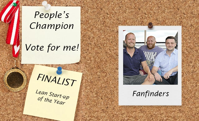 People's Champion finalist 2016: FanFinders