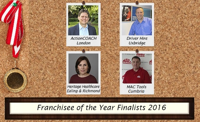 Franchisee of the Year 2016: Meet the finalists