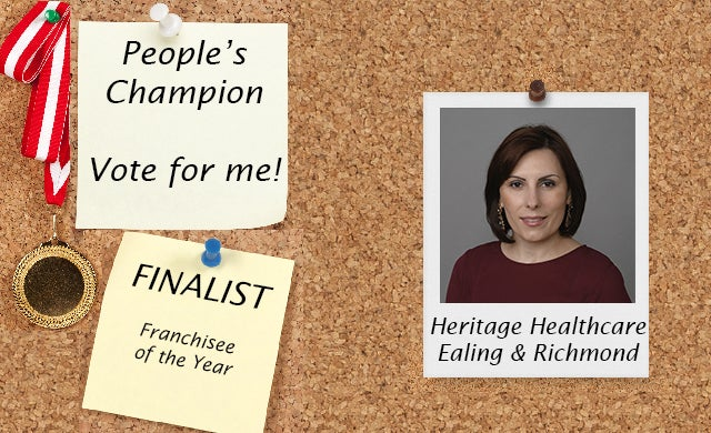 People's Champion Finalist 2016: Heritage Healthcare (Ealing & Richmond)