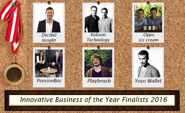 Innovative Business of the Year 2016: Meet the finalists
