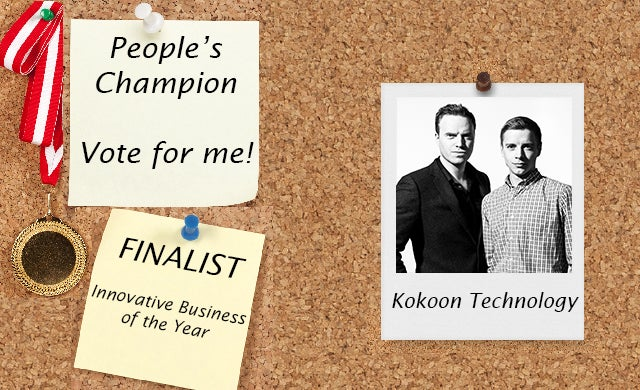 People's Champion finalist 2016: Kokoon Tech