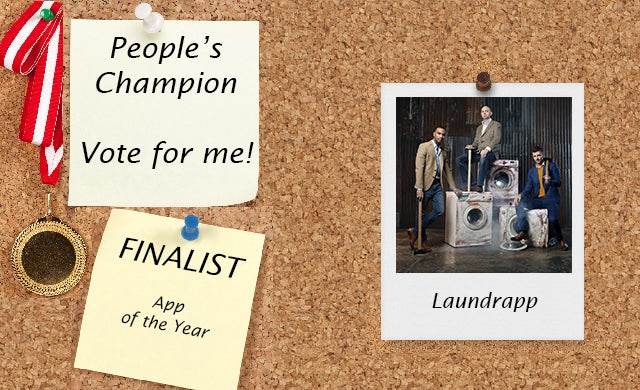 People's Champion finalist 2016: Laundrapp
