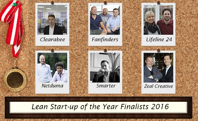 Lean Start-up of the Year 2016: Meet the finalists