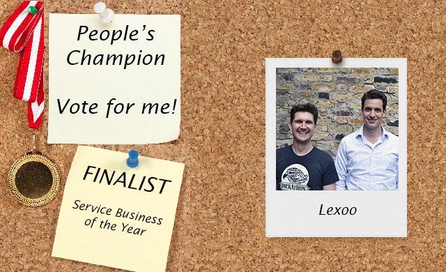 People's Champion finalist 2016: Lexoo
