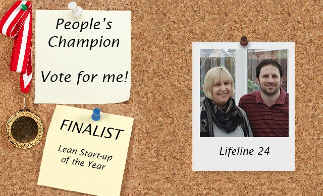 People's Champion finalist 2016: Lifeline24