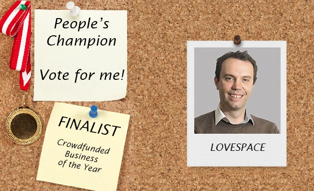 People's Champion finalist 2016: LOVESPACE