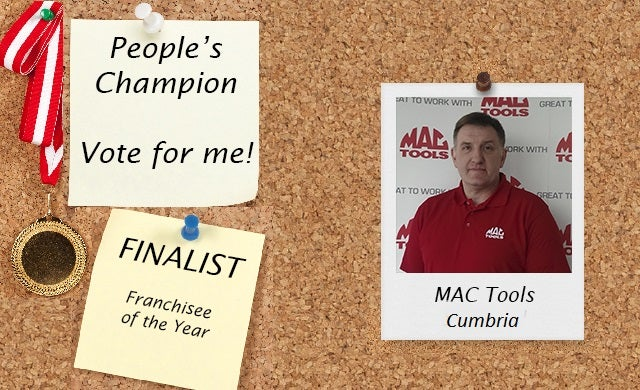 People's Champion finalist 2016: Mac Tools (Cumbria)