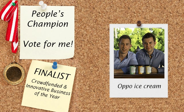 People's Champion finalist 2016: Oppo ice cream