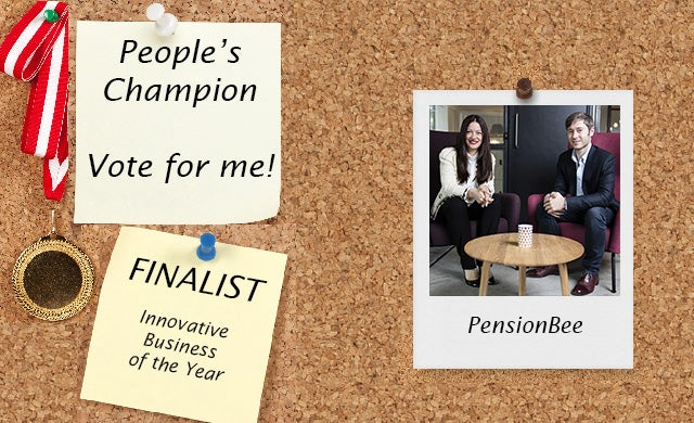 People's Champion finalist 2016: PensionBee