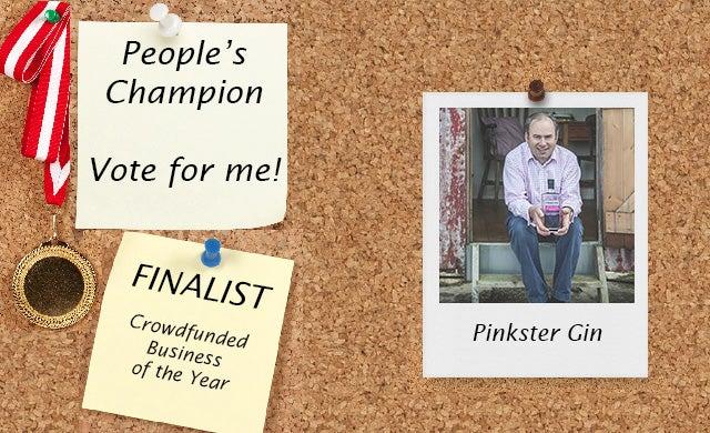 People's Champion finalist 2016: Pinkster Gin