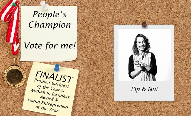 Startups Awards 2016 Pip & Nut