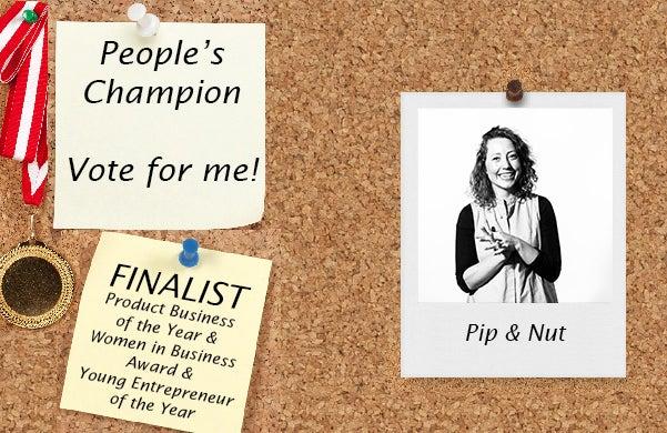 Startups Awards 2016 Pip & Nut