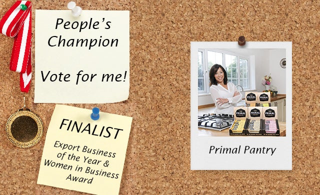 Startups Awards 2016 Primal Pantry