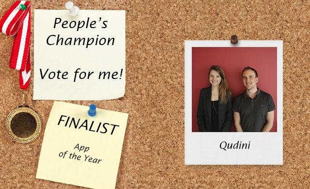 People's Champion finalist 2016: Qudini