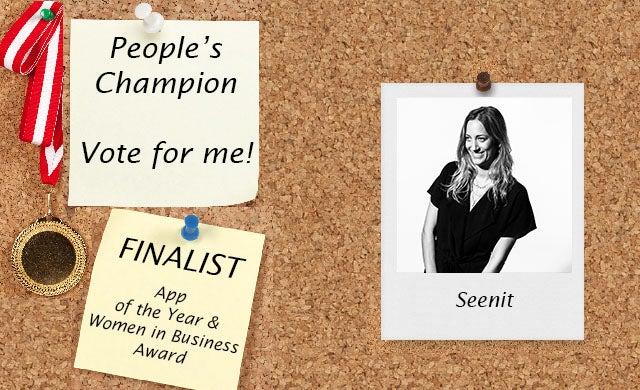 People's Champion finalist 2016: Seenit