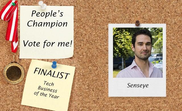 People's Champion finalist 2016: Senseye