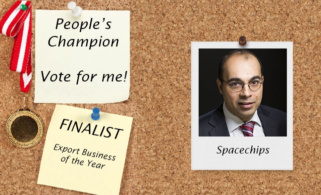 People's Champion finalist 2016: Spacechips