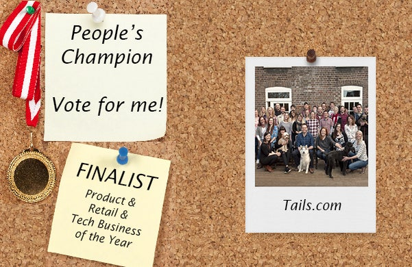 Startups Awards 2016 Finalist Tails.com