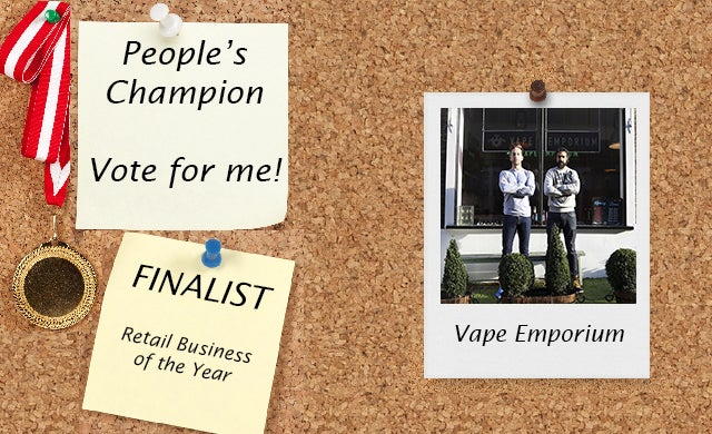 Vape Emporium Startups Awards 2016